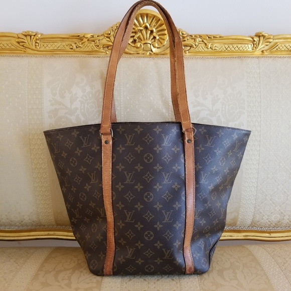 832153a1826 Louis Vuitton Handbags - Auth 1990 Vintage Louis Vuitton Monogram Sac Tote